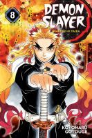 Cover image for Demon slayer. Vol. 08 [graphic novel] : The strength of the hashira