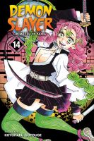 Imagen de portada para Demon slayer. Kimetsu no yaiba. Vol. 14 [graphic novel] : The mu of Muichiro