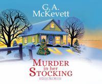 Imagen de portada para Murder in her stocking. bk. 1 [sound recording CD] : Granny Reid mystery series