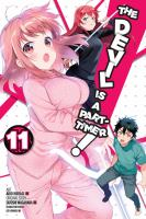 Cover image for The devil is a part-timer! Vol. 11 [graphic novel] : Maou versus the angels!