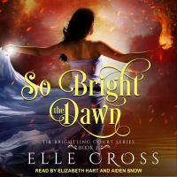 Cover image for So bright the dawn