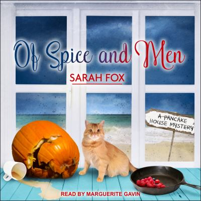 Cover image for Of spice and men. bk. 3 [sound recording CD] : Pancake House mystery series