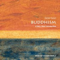 Cover image for Buddhism a very short introduction