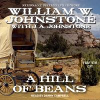 Cover image for A hill of beans. bk. 3 [sound recording CD] : Chuckwagon trail western