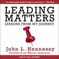 Cover image for Leading matters lessons from my journey