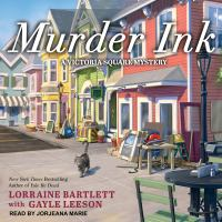 Cover image for Murder ink. bk. 6 [sound recording CD] : Victoria Square mystery series