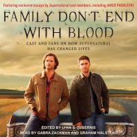 Imagen de portada para Family don't end with blood cast and fans on how supernatural has changed lives.