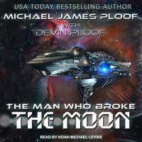 Cover image for The man who broke the moon