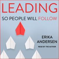 Cover image for Leading so people will follow