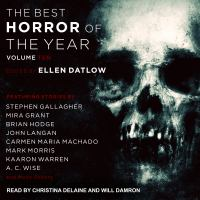 Cover image for Best horror of the year. Volume 10