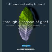 Cover image for Through a season of grief devotions for your journey from mourning to joy