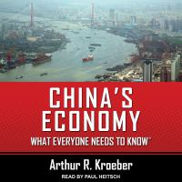 Cover image for China's economy what everyone needs to know