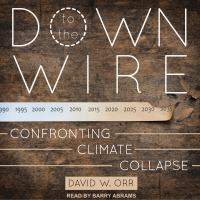 Cover image for Down to the wire confronting climate collapse