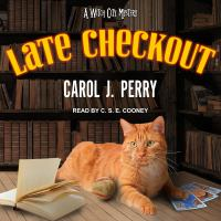 Cover image for Late checkout Witch City Mystery Series, Book 9.