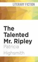 Imagen de portada para The talented Mr. Ripley. bk. 1 [sound recording CD] : Ripley series