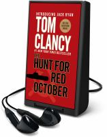 Cover image for The hunt for Red October. bk. 4 [Playaway] : Jack Ryan series