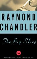 Cover image for The big sleep. bk. 1 [sound recording CD] : Philip Marlowe series