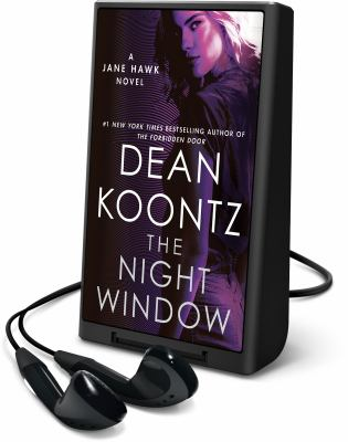 Cover image for The night window. bk. 5 [Playaway] : Jane Hawk series