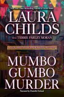 Cover image for Mumbo gumbo murder. bk. 4 [sound recording CD] : New Orleans scrapbooking mystery series