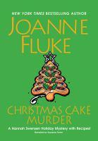 Cover image for Christmas cake murder. bk. 23 [sound recording CD] : Hannah Swensen series