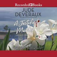 Cover image for A justified murder. bk. 2 [sound recording CD] : Medlar mystery series