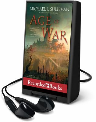 Cover image for Age of war. bk. 3 [Playaway] : Legends of the First Empire series