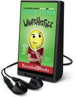 Cover image for Whatshisface [Playaway]