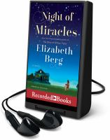 Cover image for Night of miracles [Playaway]