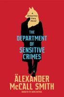Cover image for The department of sensitive crimes
