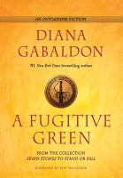 Cover image for A fugitive green