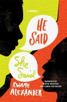 Cover image for He said, she said [sound recording CD]