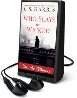 Imagen de portada para Who slays the wicked. bk. 14 [Playaway] : Sebastian St. Cyr mystery series