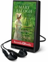 Cover image for Someone to honor. bk. 6 [Playaway] : Westcott series