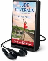 Cover image for Met her match. bk. 3 [Playaway] : Summer Hill series