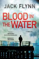 Imagen de portada para Blood in the water [sound recording CD] : a thriller
