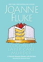 Cover image for Coconut layer cake murder. bk. 25 [sound recording CD] : Hannah Swensen series