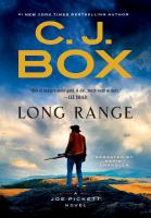 Cover image for Long range. bk. 20 [sound recording CD] : Joe Pickett series