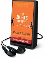 Imagen de portada para The Rosie result. bk. 3 [Playaway] : Don Tillman series