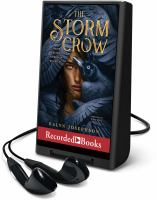 Imagen de portada para The storm crow. bk. 1 [Playaway] : Storm crow series