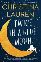 Cover image for Twice in a blue moon