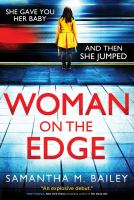 Imagen de portada para Woman on the edge : a novel