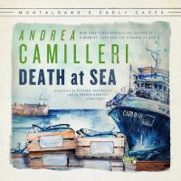 Cover image for Death at sea [sound recording CD] : Montalbano's early cases