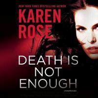 Imagen de portada para Death is not enough. bk. 6 [sound recording CD] : Baltimore series