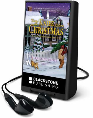 Cover image for 'Twas the knife before Christmas. bk. 2 [Playaway] : Christmas Tree Farm mysteries series