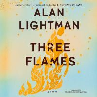 Cover image for Three flames [sound recording CD]