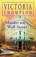 Cover image for Murder on Wall Street. bk. 24 : Gaslight mystery series