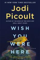 Imagen de portada para WISH YOU WERE HERE : a novel