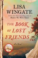Cover image for The book of lost friends : a novel