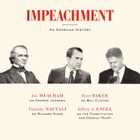 Cover image for Impeachment An American History.