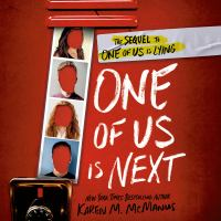Cover image for One of us is next The sequel to one of us is lying.